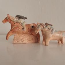 Tonfloeten-Pferdemaedchen
